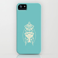 Ghost Beetle iPhone & iPod Case by Catherine Holcombe