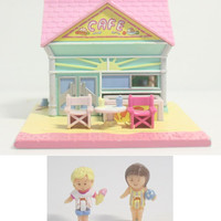 Polly Pocket Beach Cafe '93 Complete