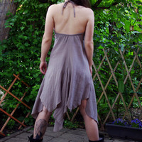 Sweet Shine - Pixie Dress, Fairy Sleeveless Dress, V - Neckline
