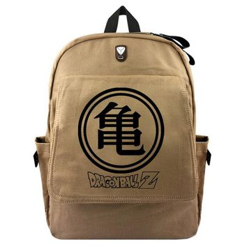 Anime Backpack School New Design Dragon Ball Z Son Goku Canvas  Student Cartoon School Bags Haversacks Unisex Casual Travel Bags Gift AT_60_4