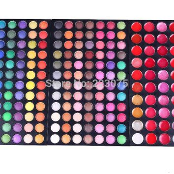 Pro 228 colors Makeup Pallette 60 lip gloss 168 colors eyeshadow
