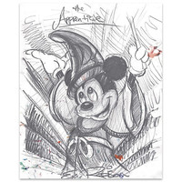 ''The Apprentice'' Sorcerer Mickey Mouse Giclée by Eric Robison
