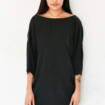 Silence + Noise Washed Mini Sack Dress - Urban Outfitters