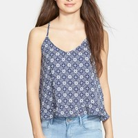 Junior Women's Lush Ruffle Back Tank