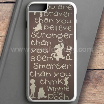Winnie The Pooh Quotes 3 iPhone 6S Case | casefantasy