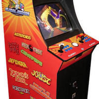 Discontinued Product : Global Arcade Classics Video Arcade Machine Info Page From BMI Gaming