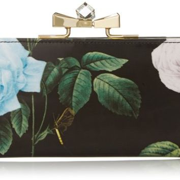 Ted Baker Maryah Distinguish Rose Print Matinee Wallet