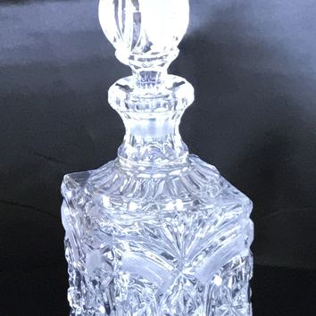 Towles Lead Crystal Whiskey Decanter