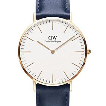 Daniel Wellington Limited Edition CLASSIC SOMERSET Mens 40mm Watch Rose Gold DW00100121