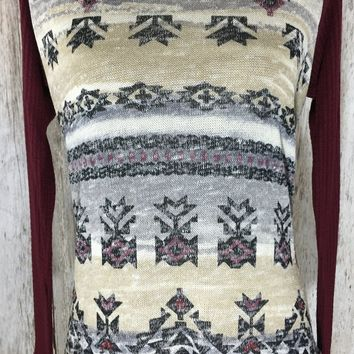 A Touch of Aztec Top