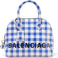 Balenciaga - Ville printed leather tote