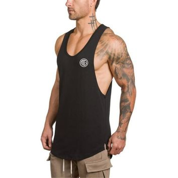 gyms tank tops miscalculation vest bodybuilding clothing and fitness men undershirt workout Weight lifting undershirt