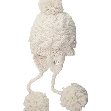 Betsey Johnson Pearly Girl Earflap Hat