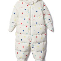 EcoPuffer down snowsuit | Gap