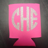 Monogrammed/Personalized Koozie by christylous on Etsy