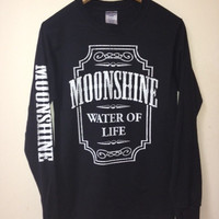 Moonshine long sleeve shirt
