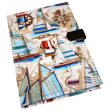 iPad Air 2 3 4 5 Case Mini Hard Case iPad Cover i Pad stand up Sailboat Camera Hole Magnetic Closure