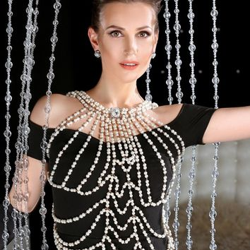 Pearl Body Chainmail Night City
