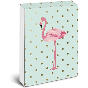 Flamingo Pink Pocket Note in Mint