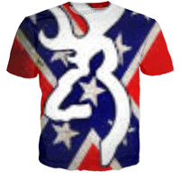 Rebel Flag Tee Shirt