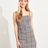 Girls Plaid Shift Dress | Girls Dresses & Rompers | HollisterCo.com