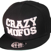 3D Crazy Mofos Snapbacks