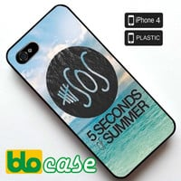 5 Seconds of Summer - Gotta Get Out Cover iPhone 4 Plastic Case