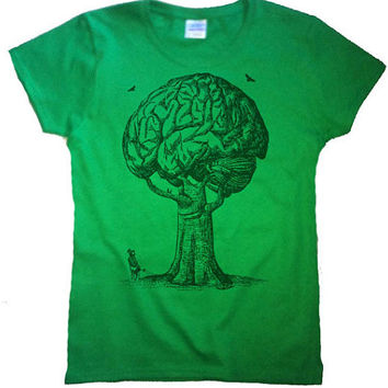 Think Green Women's T Shirt