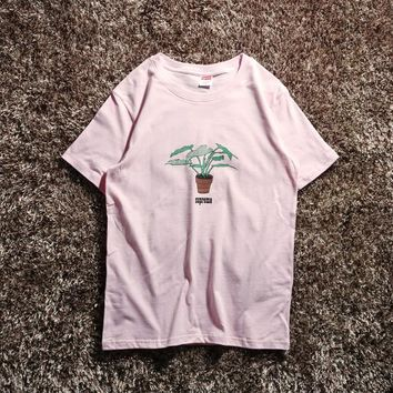 Cheap Women's and men's supreme t shirt for sale 85902898_0123