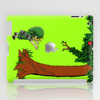 Link Legend of Zelda with an apple tree apple iPad 2, 3 and iPad mini Case