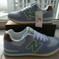 """New Balance"" Fashion Casual N Words Breathable Women Sneakers Running shoes"