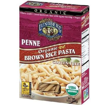 Lundberg Farms Penne Brown Rice Pasta (12x12 Oz)