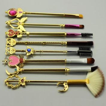 Sailor Moon Gold Brush Set