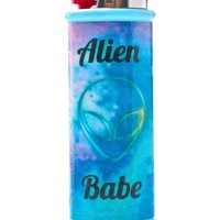 Alien Babe Bic Lighter Case