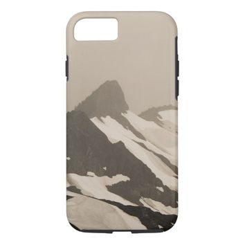 Bad Weather in the Mountains iPhone 7 Case