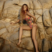 Agua Bendita Tropical Reversible One Piece