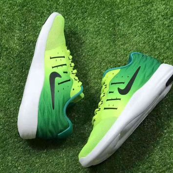 Nike Lunarstelos Fashion Men Running Sport Casual Shoes mesh Sneakers Green Mint gree