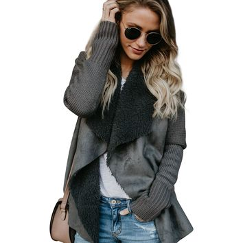 Cozy Cardigan, Charcoal