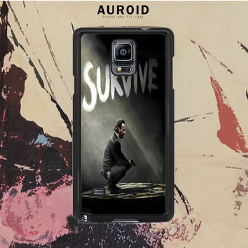 The Walking Dead Rick Survive Samsung Galaxy Note 3 Case Auroid