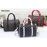 LV Fashion Collision Full Printed Male and Female Travel Home Baggage
