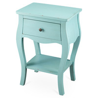 Lena Nightstand, Light Blue, Nightstands