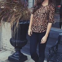 Shere Khan Blouse: Cheetah
