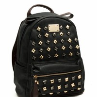 Pyramid Studded Mini Backpack - GoJane.com