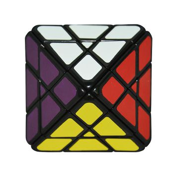 Brand New Lanlan Octahedron 8-Axis Magic Speed Puzzle Cube White/Black/Stickerless Twist Cubo Magico Educational Special Toys