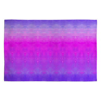 Rebecca Allen Safely Softly Sweetly Woven Rug