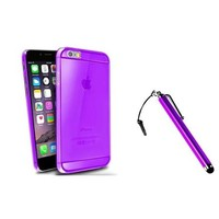 "Insten Purple Snap On Thin Slim Hard Case Cover+Touch Stylus For Apple iPhone 6 Plus 5.5"" inch - Walmart.com"