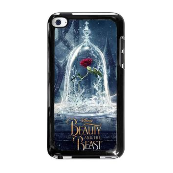 BEAUTY AND THE BEAST ROSE IN GLASS iPod Touch 4 Case Cover
