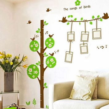 Wishing tree background picture the bedroom decorates The third generation of removable wall stickers SM6