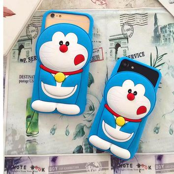 2017 New Cartoon Case For iPhone 6 6S Soft Silicone Case For iPhone 7 Plus Mobile Phone Shell Protective Back Cover For Boy