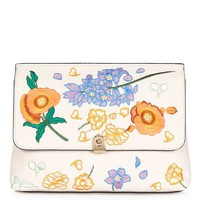 CRYSTAL Floral Clutch - Bags & Wallets - Bags & Accessories